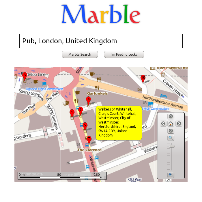 Marble - find your way and explore the world