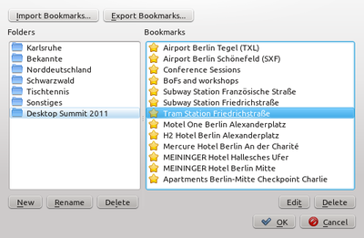 Tidy up your bookmark collection with Marble's new bookmark manager.
